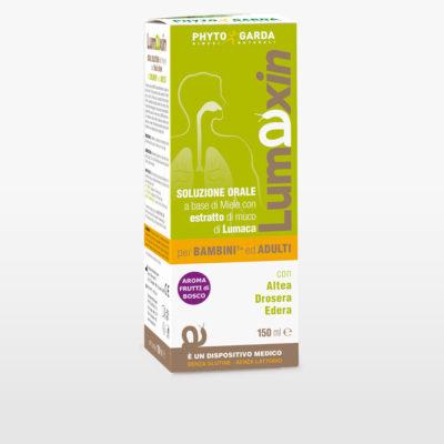 Lumaxin trattamento della tosse secca e grassa bambini ed adulti