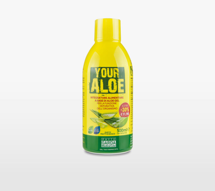 Depurazione Aloe Vera Gel Phyto Garda