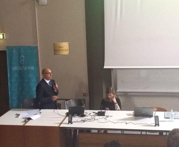 """Dott. Moglia a """"La Sapienza"""" per il Job Meeting A.GI.FAR."""