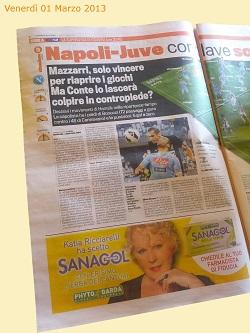 """Sanagol scende in campo su """"La Gazzetta Dello Sport"""""""