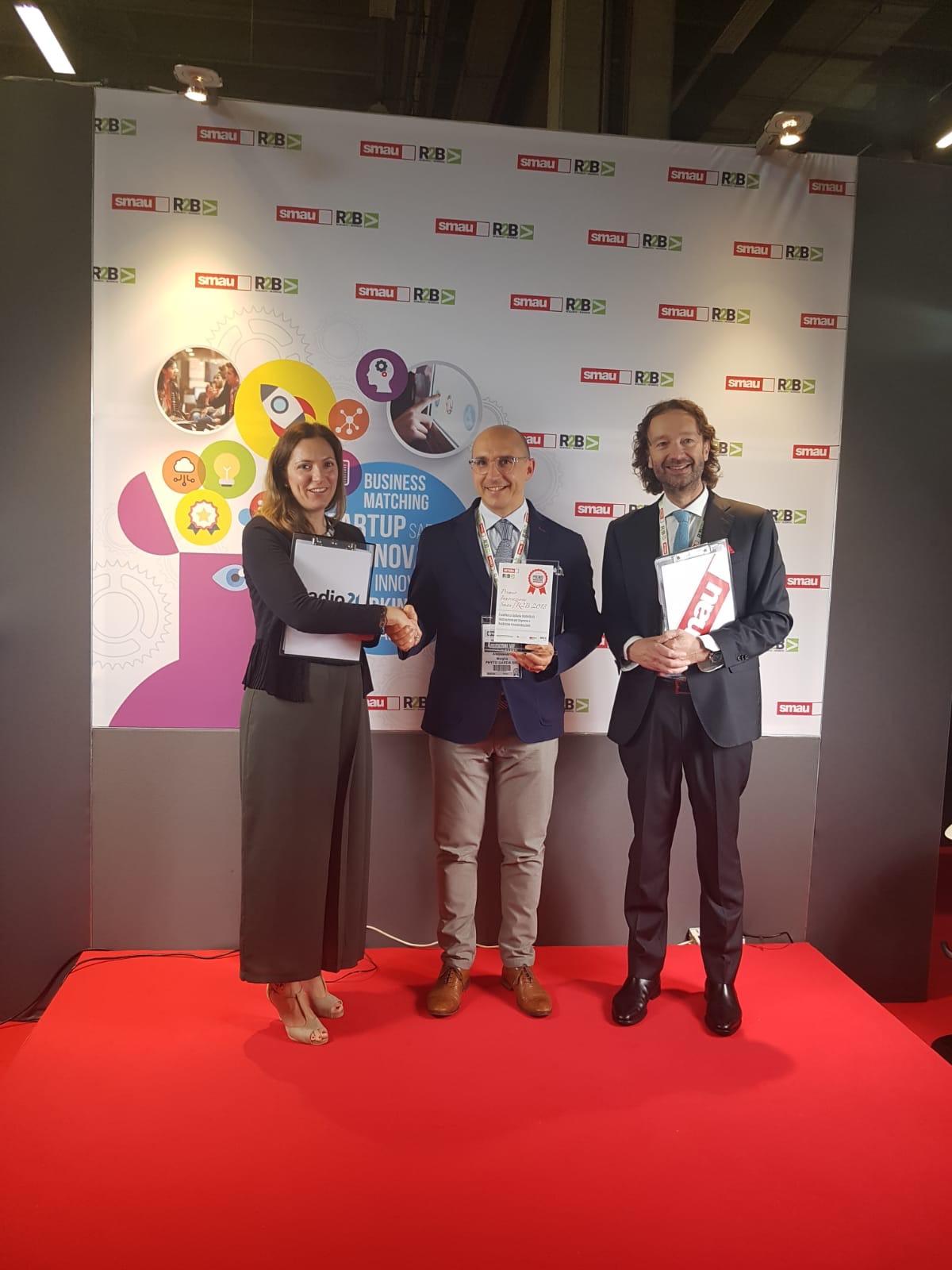 "Phyto Garda al ""Premio Innovazione SMAU R2B"""