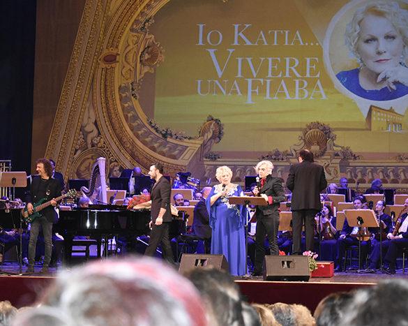 Morgan e Katia Ricciarelli