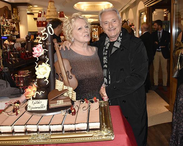 Katia Ricciarelli e Amedeo Minghi