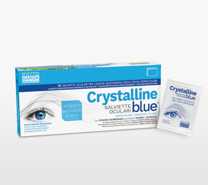 Crystalline Blue Salviette Oculari